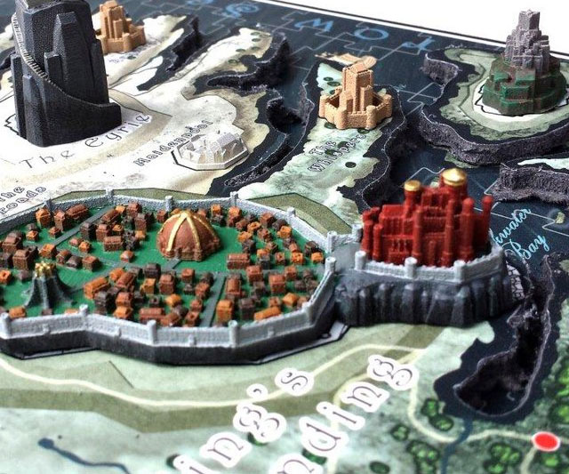 An Intricate Game Of Thrones 3d Map Puzzle Coolgiftsreview