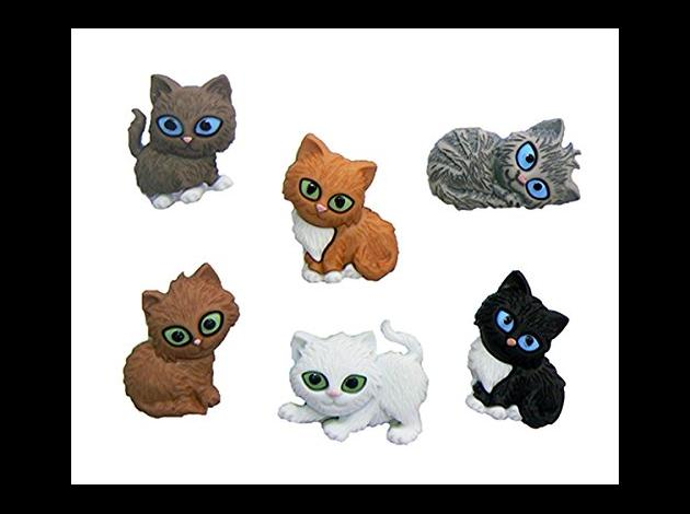 Cat Wine Charms Glass Markers