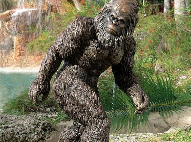 The All New Bigfoot Yeti Statue Will Enhance Any Place With Its Presence.  Crafted To Excellence By Professional Artisans Bigfoot Yeti Garden Statue  Is Hand ...